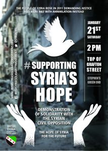 ISSM Solidarity with Syria 21 Jan'17 A4 poster v12